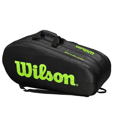 Теннисная сумка Wilson Team 3 Comp Black/Green