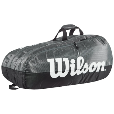 Теннисная сумка Wilson Team 3 Comp Grey