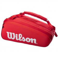 Сумка Wilson Super Tour Red 15 Новинка 2021