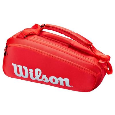 Сумка Wilson Super Tour 6 Red Новинка 2021!
