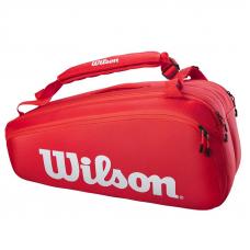 Сумка Wilson Super Tour 9 Red Новинка 2021!