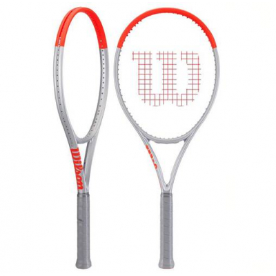 Теннисная ракетка Wilson Clash 100 Pro (Tour) Silver