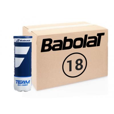 Теннисные мячи Babolat Team All Court 72 мяча (18 по 4)! Старое название - French Open All Court