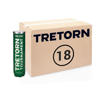 Теннисные мячи Tretorn Tournament 72 мяча (18 по 4 мяча)