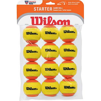 Теннисные мячи Wilson Starter Orange Ball 12 мячей