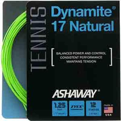 Струна для тенниса Ashaway Dynamite Natural 12 метров