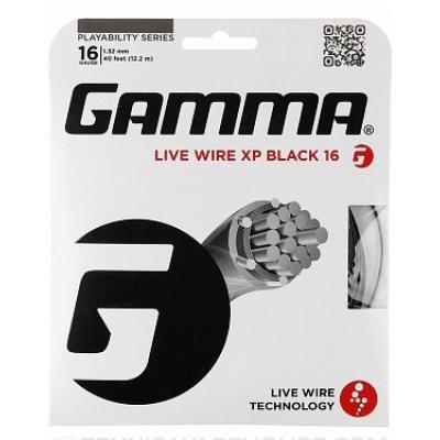 Теннисная струна Gamma Live Wire XP 1