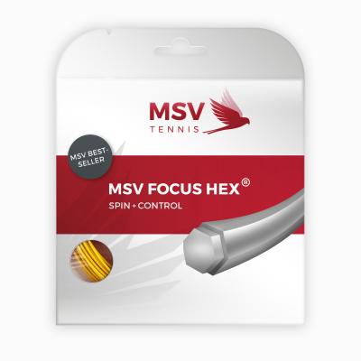 Теннисная струна MSV Focus-Hex 1