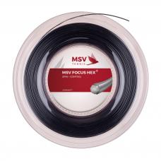 Теннисная струна MSV Focus-Hex Black 1