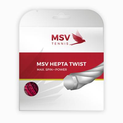 Теннисная струна MSV Hepta-Twist 1