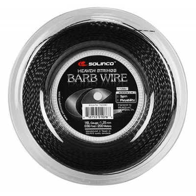 Теннисная струна Solinco Barb Wire 1