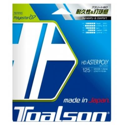 Теннисная струна Toalson HD Aster Poly 1