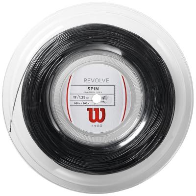 Теннисная струна Wilson Revolve 1,25 Black 200 метров