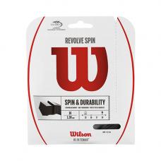 Теннисная струна Wilson Revolve Spin 1,3 Black 12 метров