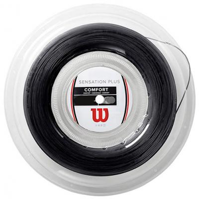 Теннисная струна Wilson Sensation Plus Black 1